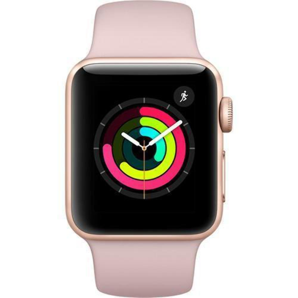 38mm Gold Aluminum Case with Pink