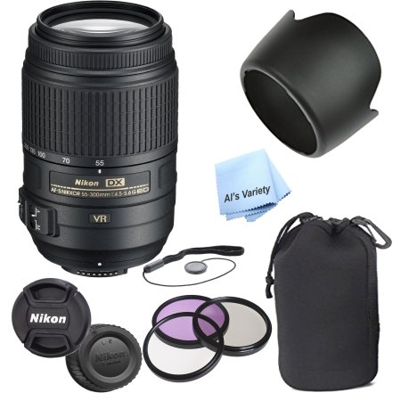 Nikon AF-S DX 55-300mm f4 5 5 6 G ED VR Lens (White Box)